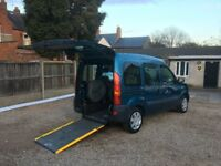 Renault Kangoo 1.2 16v Authentique 5dr, Disabled Wheelchair Adapted,3 MONTHS WARRANTY,FREE DELIVERY