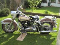 Harley Davidson Panhead, 1961 FLH Duo Glide