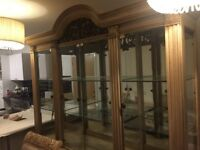 Lexington display cabinet