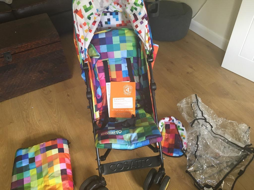 Cosatto Supa Stroller - Pixelate REDUCED! | in Armagh, County Armagh |  Gumtree