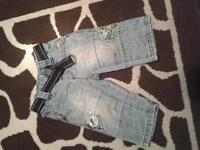 6-9 month Next baby boy jeans