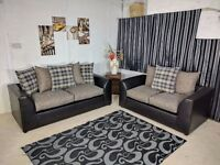 **SPECIAL OFFER** BRAND NEW STYLISH YET SIMPLE PARIS CORNER SOFA OR (3+2)
