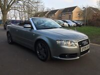 Audi A4 Cabriolet 2.0 TDI S Line 2dr Special Edition-3 Months Warranty Included