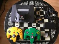 Nintendo 64 bundle inc 14 Games