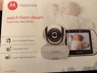 Brand new Motorola digital video baby monitor MBP36S