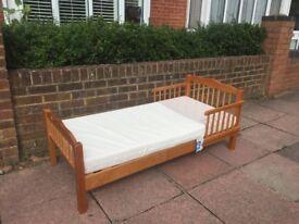 Childrens Bed & Waterproof Mattress - FREE