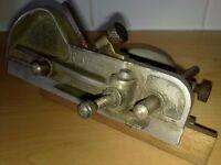 Vintage RAPIER English PLOUGH PLANE Old Antique Hand REBATE PLANE