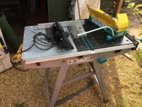 Folding saw/ router bench