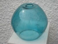 Brand New Turquoise Blue Glass Ceiling Lampshade for £10.00