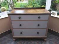 Ches of drawers painted Annie Sloan shabby chic