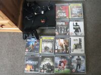 PS3 / Sony PlayStation 3 with 11 games