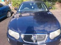 Rover 75 1.8 Facelift Model with Very low mileage, Great condition with MOT