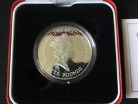 1996Royal Mint Queen's 70th Birthday£5 Five Pound SilverProof Crown Coin