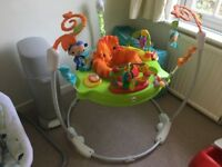 Fisher Price Jumperoo baby jumper bouncer (and other baby stuff) ono