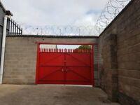 Large secure yard to let £75 per week