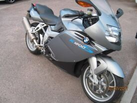 BMW K1200S Motorcycle for sale. April MOT, 12,000 mile service late last year. Very good condition.