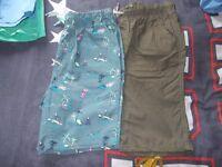 2 x pairs of boys next shorts age 14 yrs