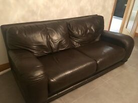 2x large 3 seater sofas