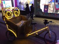 Electric Rickshaw Bike Tok Tok Pedicab