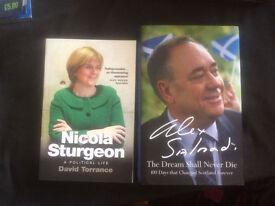 Nicola Sturgeon - A Political Life // Alex Salmond - The Dream Shall Never Die