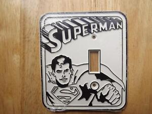 "FS: 1976 Irwin Co. ""Superman"" Light Switch Plaque London Ontario image 1"