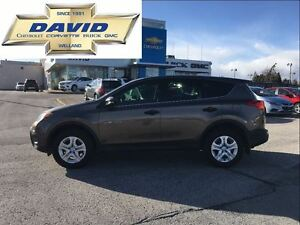 2013 Toyota RAV4 LE FWD LOADED, 17 WHEELS, KEYLESS ENTRY, LOCAL