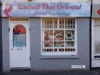 Thai Massage in Walsall OPEN full body massage open 10am until 8pm Mon-Saturday