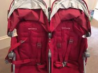 MacLaren Double Buggy - Good as New!