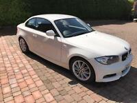 BMW 118D M Sport Coupe Alpine White low miles lady owner