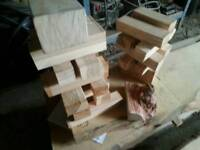 Oak blanks wax sealed