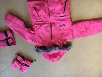 Girls Ski/Snowboard Outfit