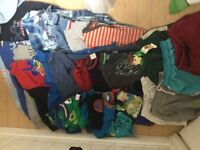 Bundle of boys clothes 5-6yrs with some 6/7's-Just £2.50 an item/per pair of pj's