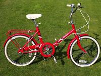 Folding Shopper Bicycle BSA/Raleigh