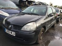 RENAULT CLIO EXPRESSION DCI 65 2005- FOR PARTS ONLY