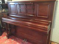 John Broadwood & Sons Upright Piano Full Iron Frame Overstrung