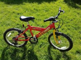 Child's bicycle - 18 inch wheel - Concept MX600