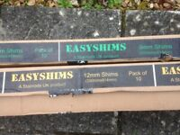 Easy Shims - 10 in total - 2 sizes