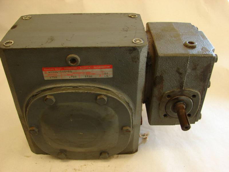 Boston Gear WA236-100-1 SPEED REDUCER GEARBOX