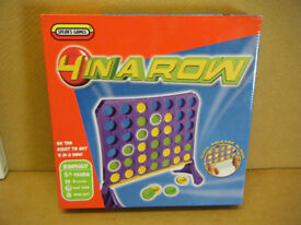 4 IN A ROW board game. By Spears Games 2014. New and sealed.