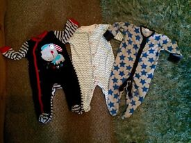Sleep suit bundle 3-6