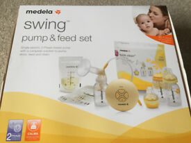 Medela Swing Pump and Feed Set