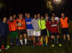Soho Football Club - Open Training Day - 15th July 12pm - 2pm Regent's Park