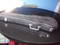 Violin Shaped Hard Bodied Carrying Case for Full Size 4/4 Violin