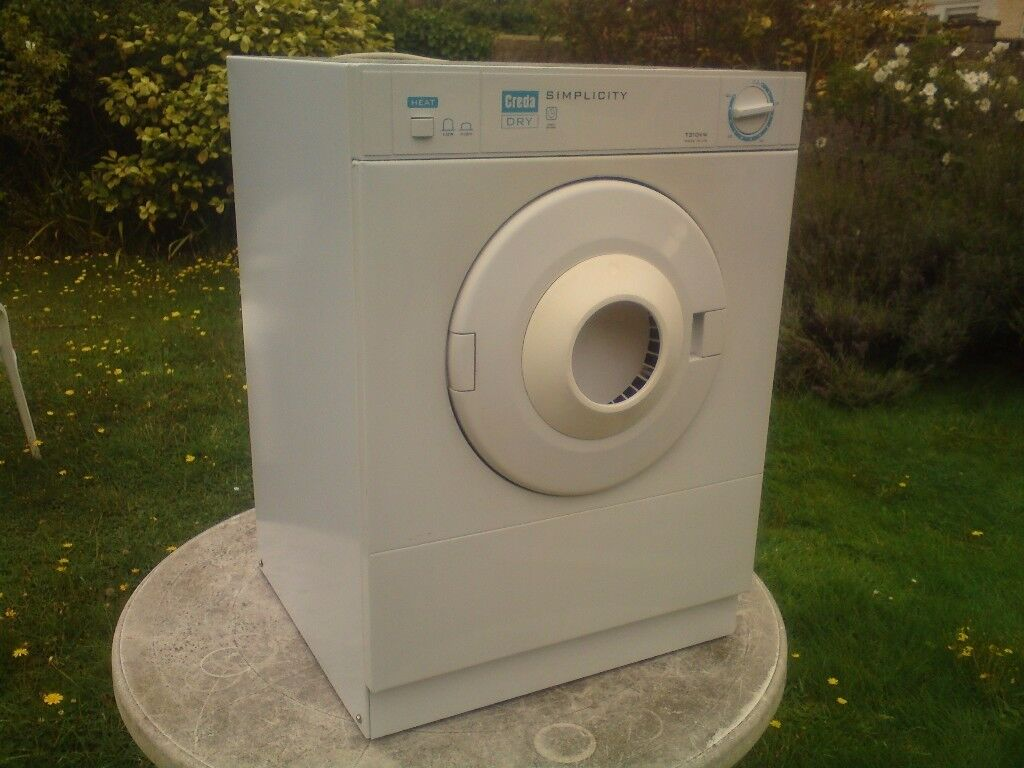 CREDA 3KG,FRONT VENTED TUMBLE DRYER,CAN BE SEEN WORKING ,like white knight,bosch