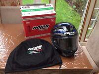 Nolan N87 motorcycle motorbike helmet size large £150ono