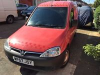 2007 Vauxhall COMBO . 1 OWNER. BRILLIANT CONDITION. FULL SERVICE HISTORY.RECENTLY SERVICED.BULKHEAD