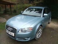 Audi A4 Avant 2.0TDIse. Sat Nav etc. . Heated leather seats. Towbar. New discs & pads