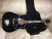 Full Size Guitar With Stand , Strap and Soft Carry Case