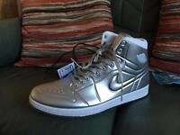 Nike Air Jordan 1 Anodized Silver UK10