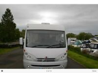 Burstner Ellegance I 660 A class Luxury Motorhome. 4 Berth. Excellent condition with very Low Milage